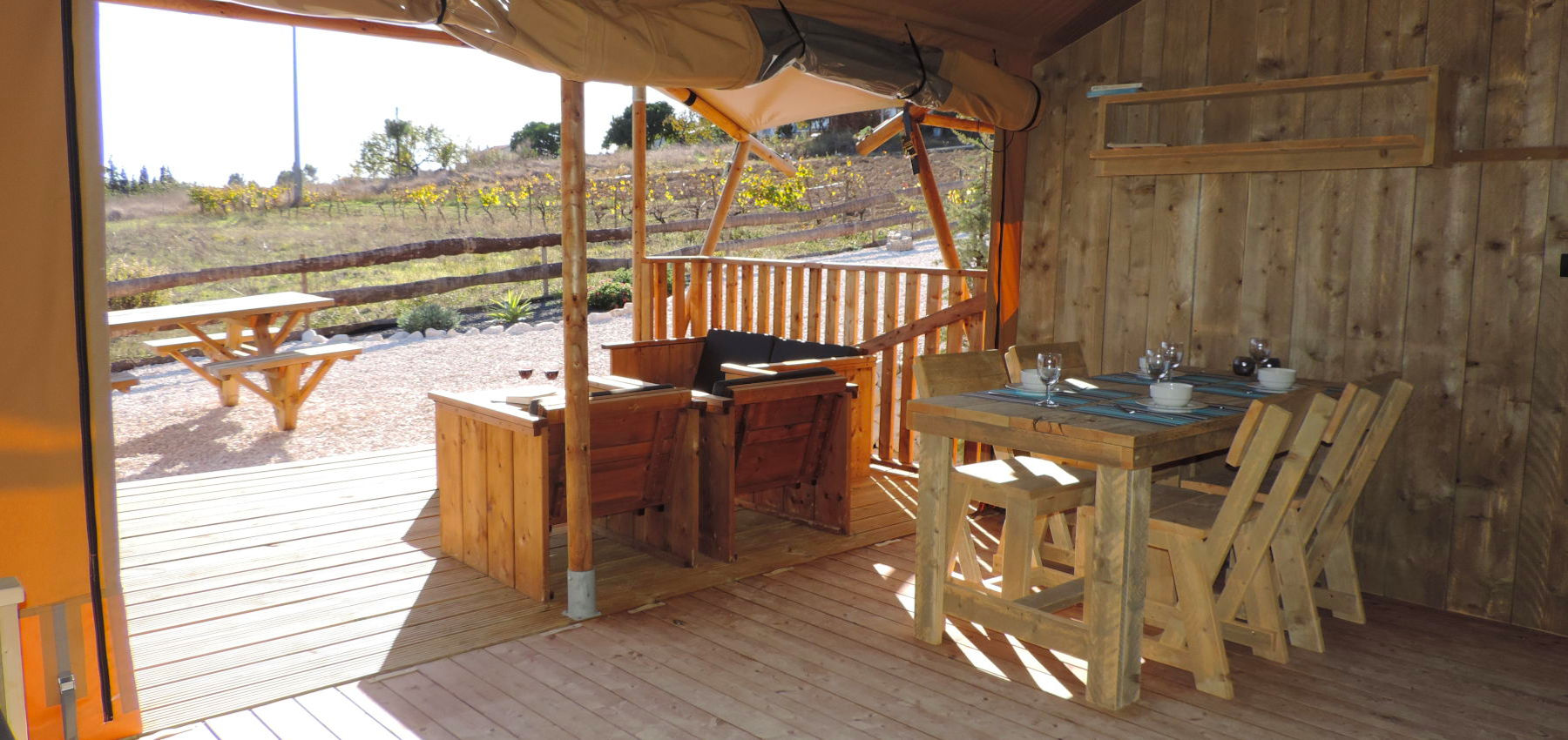 Vacations at Silver Coast Glamping luxury tent lodges   Portugal